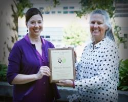 2017 Muenchrath Award winner Michelle Wenish